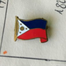 Pins de colección: ANTIGUA INSIGNIA AGUJA PIN ALFILER PIN BANDERA FILIPINAS. Lote 86864460
