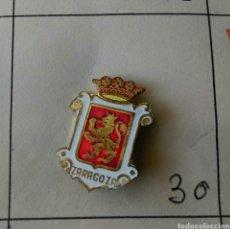 Pins de colección: ANTIGUO PIN INSIGNIA AGUJA IMPERDIBLE ZARAGOZA ESCUDO RARO. Lote 87036330