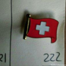 Pins de colección: ANTIGUO PIN INSIGNIA AGUJA IMPERDIBLE ESMALTADO SUIZA. Lote 87037310