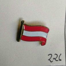 Pins de colección: ANTIGUA INSIGNIA AGUJA ALFILER NO PIN AÑOS 50 60 BANDERADE AUSTRIA. Lote 87054888