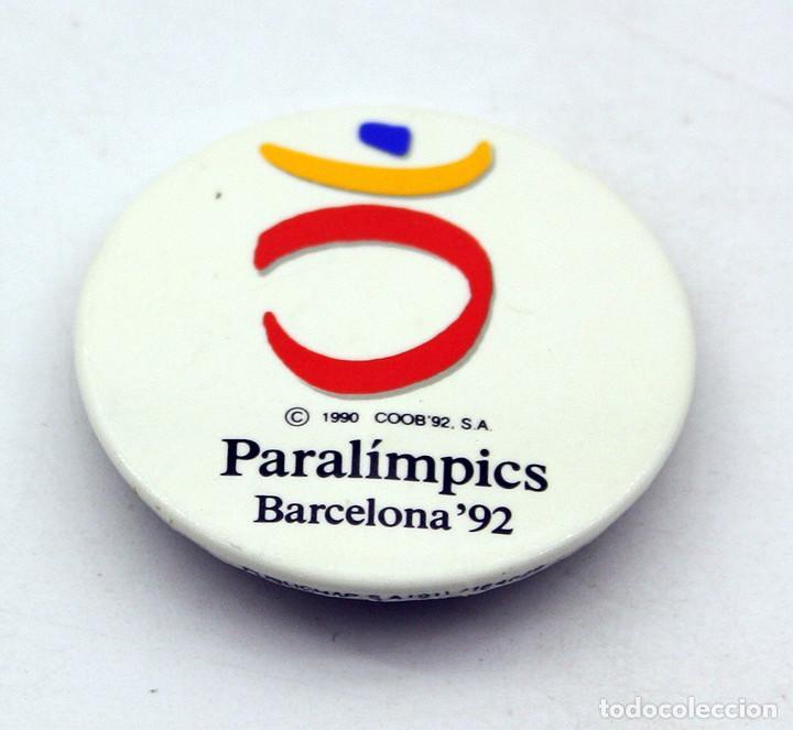 ANTIGUA CHAPA DE LOS JUEGOS PARALIMPICOS DE BARCELONA 92 (Coleccionismo - Pins)