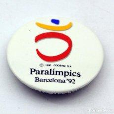 Pins de colección: ANTIGUA CHAPA DE LOS JUEGOS PARALIMPICOS DE BARCELONA 92. Lote 87373628