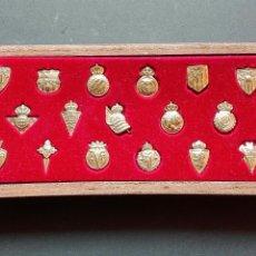 Pins de colección: 20 PIN DE EQUIPOS ESPAÑOLES PRIMERA DIVISIÓN. Lote 88992383
