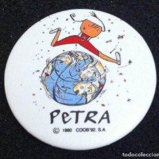 Pins de colección: PIN O CHAPA DE AGUJA PETRA (MASCOTA JUEGOS PARALIMPICOS BARCELONA 92). Lote 89081664