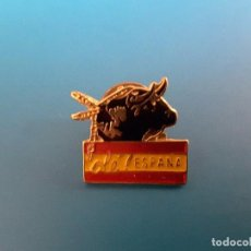 Pins de colección: PIN TAUROMAQUIA - OLÉ ESPAÑA. Lote 89410104
