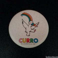 Pins de colección: CHAPA CURRO EXPO 92 SEVILLA, ESPEJO. Lote 269160873