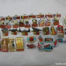 Pins de colección: LOTE 41 PINS PIN COCA COLA COCACOLA OLIMPIADAS EXPO MUNDIAL MÚSICA. Lote 90668275