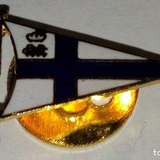 Pins de colección: PINS BANDERIN ESMALTADO, BLANCO Y AZUL. Lote 94180230