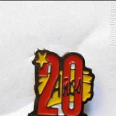 Pins de colección: PIN PUBLICIDAD : 20 AÑOS PRYCA. Lote 94310090