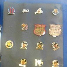 Pins de colección: PINS FC BARCELONA. Lote 94800548