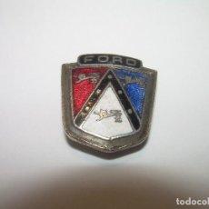 Pins de colección: ANTIGUA INSIGNIA ESMALTADA AÑOS 20....AUTOMOVIL....FORD.......BUEN ESTADO DE CONSERVACION.. Lote 95375311