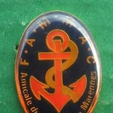 Pins de colección: PIN AMICALE DU CANTONDE MARENNES . Lote 95815671