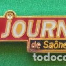 Pins de colección: PIN LE JOURNAL DE SAONE & LOIRE . Lote 95816399