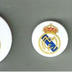 Pins de colección: ESCUDO DEL REAL MADRID. SERIE DE TRES CHAPAS. Lote 95939411