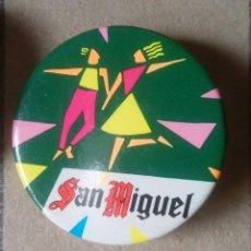 Pins de colección: CHAPA BEBIDAS Y REFRESCOS. CERVEZAS SAN MIGUEL.. Lote 96561759