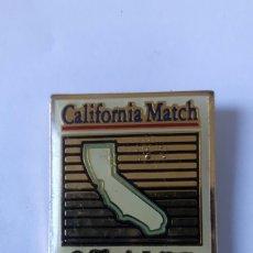Pins de colección: PIN CALIFORNIA MATCH - CALIFORNIA LOTTERY. Lote 97490056