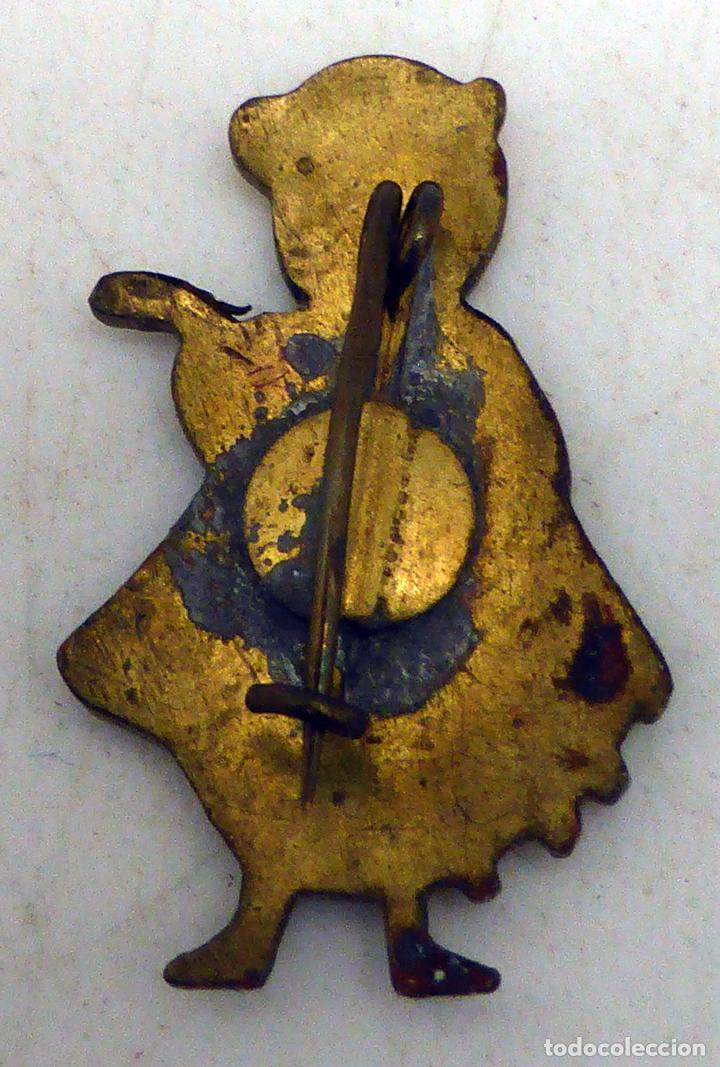 Pins de colección: Pin tuno tuna metal y esmalte años 60 - Foto 2 - 97778271