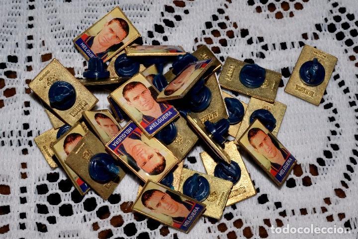 Pins de colección: GRAN LOTE DE PINS DE JUGADORES DE FÚTBOL - Foto 2 - 97778359
