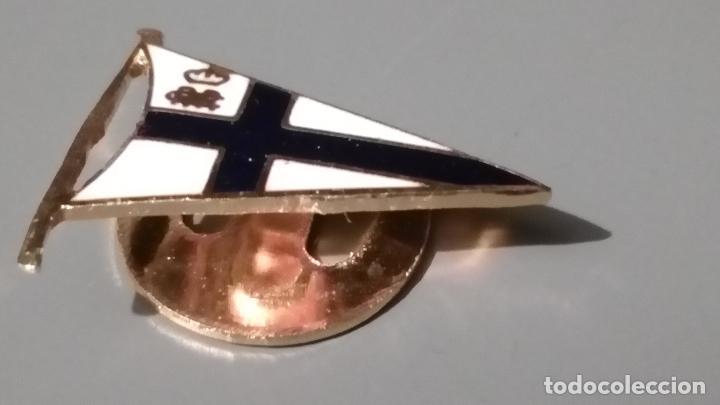 Pins de colección: PINS BANDERIN ESMALTADO, BLANCO Y AZUL - Foto 3 - 94180230