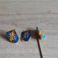 Pins de colección: LOTE 3 PINS - PIN FEDERACION ESPAÑOLA GIMNASIA - VER FOTO ADICIONAL. Lote 98187071