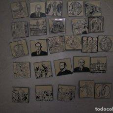Pins de colección: 26 PINS HISTORIA DE CATALUÑA. Lote 98396111