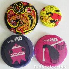 Pins de colección: LOTE DE CHAPAS CON IMPERDIBLE - ADORNOS - CHAPA - CHAPITA - NO SON PINS. Lote 98532271