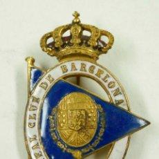 Pins de colección: REAL CLUB DE BARCELONA 5,2 CM. DE LARGO. . Lote 99927647