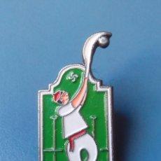 Pins de colección: PIN DEPORTES DE FRONTON. PELOTA VASCA. PALA. CESTA PUNTA.. Lote 100167715