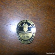 Pins de colección: (F.1) PING MOTO CLUB PIRINEOS CONCENTRACIÓN 1979 BARBATRO. Lote 102004351