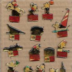 Pins de colección: COLECCION DE PINS DE COCA COLA SEVILLA 92 OLIMPIADAS. Lote 102172203