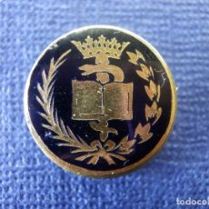 Pins de colección: ANTIGUA INSIGNIA - P/ OJAL EN SOLAPA - CARRERA PROFESIONAL - OFICIO - SIN DETERMINAR POR EL MOMENTO. Lote 102282339