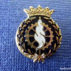 Pins de colección: ANTIGUA INSIGNIA - P/ OJAL EN SOLAPA - CARRERA PROFESIONAL - OFICIO - SIN DETERMINAR POR EL MOMENTO. Lote 102282395