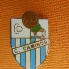 Pins de colección: ANTIGUA INSIGNIA - CLUB DEPORTIVO CUATRO CAMINOS - MADRID - SUJECCIÓN MEDIANTE IMPERDIBLE. Lote 102284695