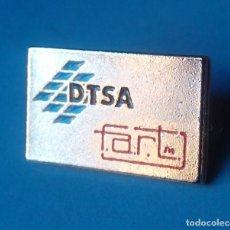 Pins de colección: PIN EMPRESAS. DTSA. ILUMINACION Y DECORACION. CAMARGO. CANTABRIA.. Lote 103560243