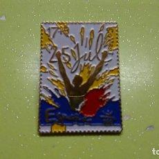 Pin's de collection: PIN SELLO EXPO 92, EXPOSICIÓN UNIVERSAL SEVILLA 1992. Lote 103861075