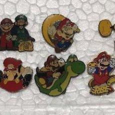 Pins de colección: 12 PINS SAGA SUPER MARIO BROS,YOSHI, LUIGI, NINTENDO, PIN. Lote 103877587