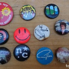 Pins de colección: CAPAS GRUPOS MUSICALES ABBA LED ZEPPELIN... CHAPA PIN PINS. Lote 104087811
