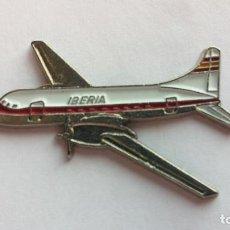 Pins de colección: PIN AVION IBERIA. Lote 104285947
