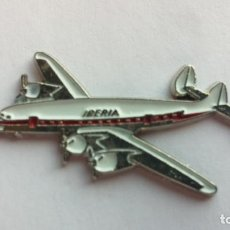 Pins de colección: PIN AVION IBERIA. Lote 104286019