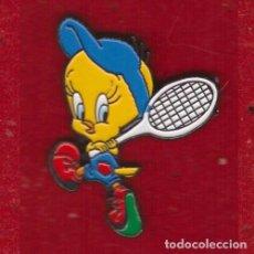 Pins de colección: PIN PIOLÍN WARNER BROS TENIS. Lote 104287119