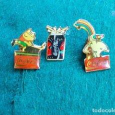 Pins de colección: PIN ANTIGUOS DE COCACOLA. Lote 105149871
