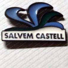 Pins de colección: PINS - PIN - SALVEM CASTELL. Lote 105286323