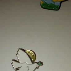 Pins de colección: CAJ-BV09P PIN PINS RETRO ANTIGUO PALOMA BLANCA DE LA PAZ . Lote 105311223