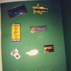 Pins de colección: PINS COLECCION. LOTE 10 PIN TELEFONIA. MUY ANTIGUOS. . Lote 105376151