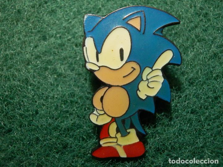 pin - dibujos animados - mascota - sonic - seg - Comprar Pins ...