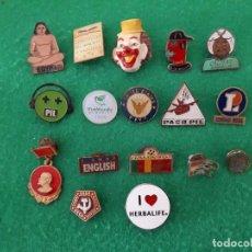 Pins de colección: 17 PINES VARIOS. Lote 106070163