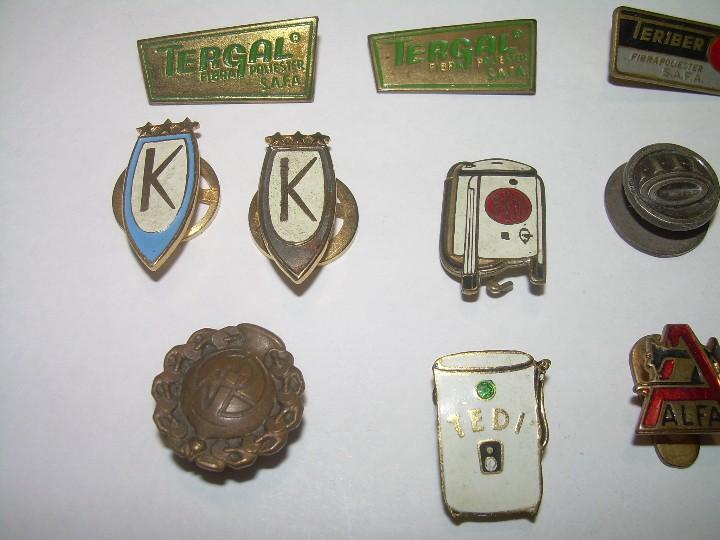 Pins de colección: LOTE DE 14 INSIGNIAS. - Foto 2 - 107231343
