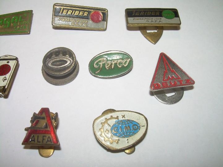 Pins de colección: LOTE DE 14 INSIGNIAS. - Foto 3 - 107231343