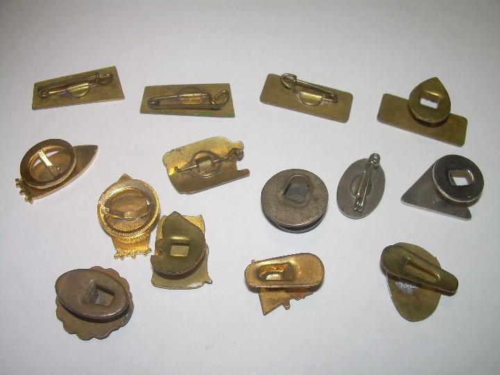 Pins de colección: LOTE DE 14 INSIGNIAS. - Foto 4 - 107231343