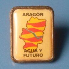 Pins de colección: PIN POLITICO. COMUNIDAD DE ARAGON. AGUA Y FUTURO. (PINS POLITICOS, CHAPAS POLITICAS). Lote 107253235